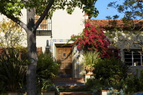 spanish style home hancock park