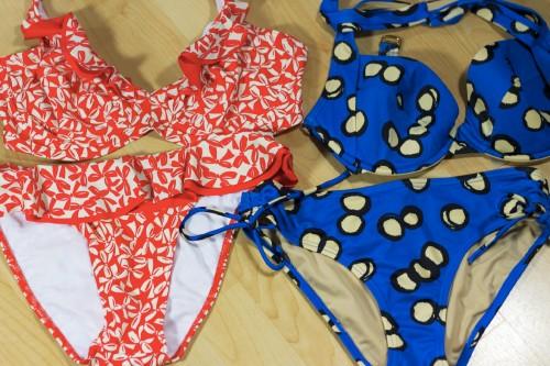 printed bikinis