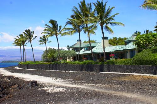 big island beach home