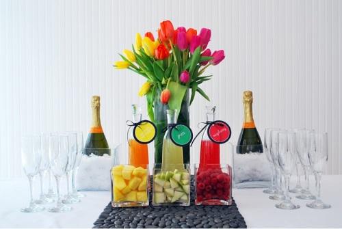 #mimosa bar #brunch cocktails