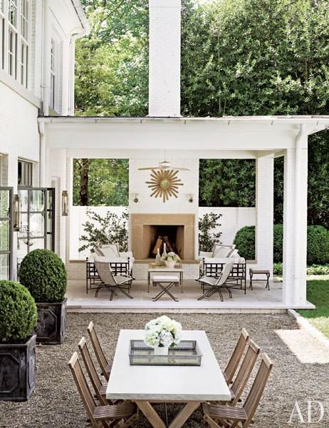 #architectualdigest #garden #prettybackyard